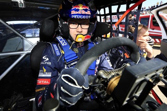 Sébastien Loeb et la PEUGEOT 208 WRX décrochent une belle deuxième place à Montalegre 74557758fc89b46ce67