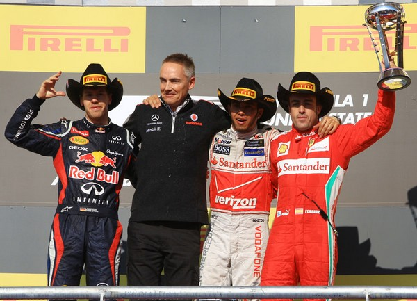 F1 GP des Etats-Unis 2012 : Victoire Lewis Hamilton 7460502012SebastianVettelMartinwhitmarshLewisHamiltonFernandoAlonso