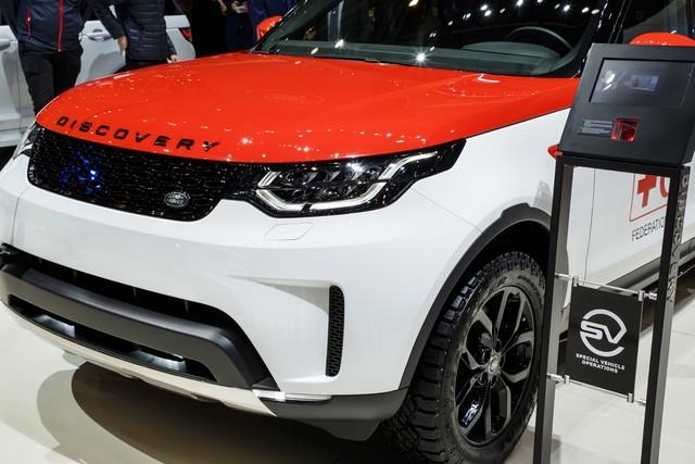 Project Hero, une version unique du nouveau Land Rover Discovery pour la Croix Rouge autrichienne  746419lrnewdiscoveryprojecthero07021728