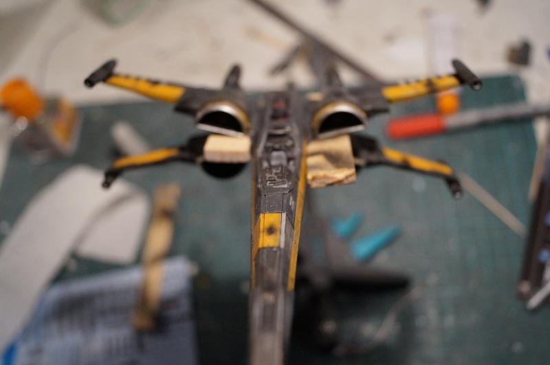 "X-Wing ""Resistance"" T-70 Bandaï 1/72 746429DSC01481"