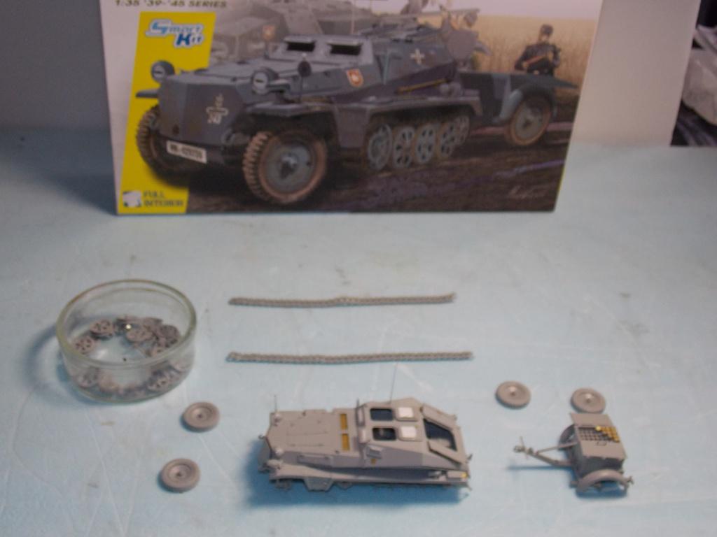 Quelque part front est été 41  Stug III ausf B (tamiya ) et SdKfz  252 (dragon ) 1/35 746597DSCN5373