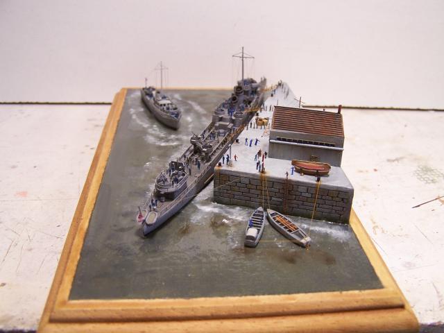 "Hms Campbeltown ""operation Chariot"" airfix 1/600 par Orion 750292StNazairecampbeltown047jpg"