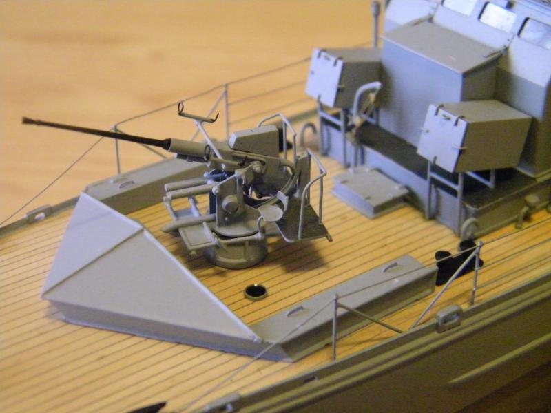 Chasseur de sous-marin CH 123 au 1/100e sur plan 7503671001744