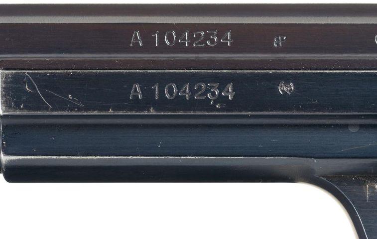 Un rare Schmidt Rubin IG 1896 survivant 751000SigP210