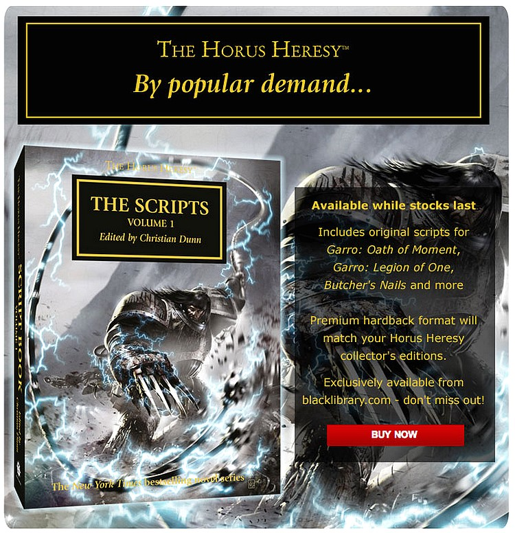 [Horus Heresy] The Scripts: Volume One 754737thescripts