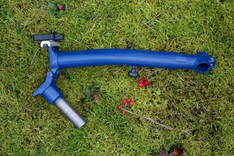 [VENDU] - Tube de direction - potence modèle H en bleu cobalt mat  754825DSC00692800