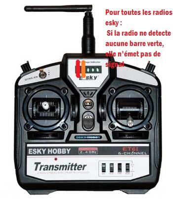 Esky - Radio esky 6ch led rouge ne s'allume plus 754996120l