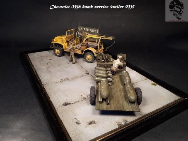 Chevrolet M6 bomb service et bomb trailer M5 1/35 75594220171025143654