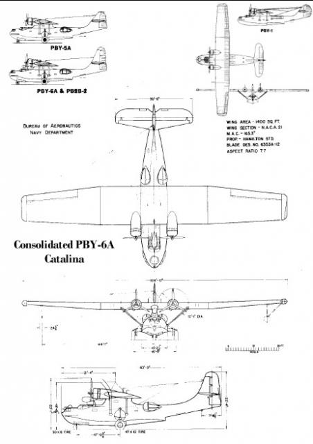 CONSOLIDATED PBY CATALINA  756839PBY6ABuAer3sideview