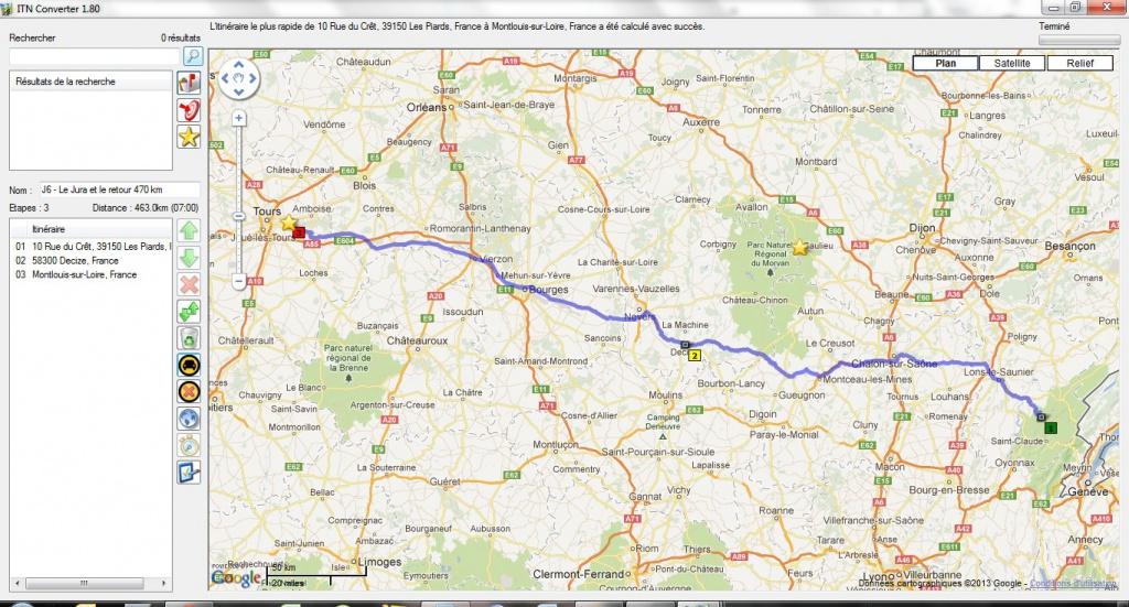 Préparation : LA ROUTE DES GRANDES ALPES - Sept 2013 760332Leretour