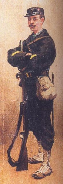 Corps francs de chasseurs - 1870 760699Sergentdunrgimentdemarchedechasseursdu16ecorps18701871