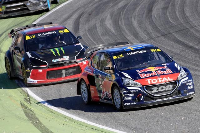Les PEUGEOT 208 WRX en chasse pour le titre de Champion du Monde FIA !!  76096557de4ff06f68c
