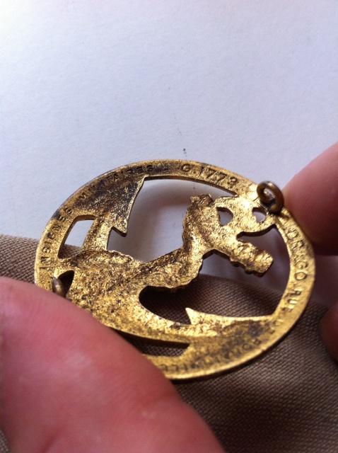 Béret kaki-clair coloniale régimenté 16éme RIC 762043IMG0874