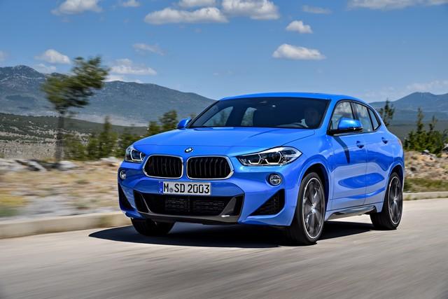 La nouvelle BMW X2 Silhouette élégante, dynamique exceptionnelle 762129P90278943highResthebrandnewbmwx2