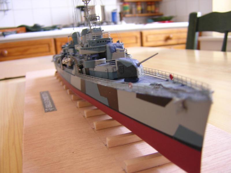 DD- 541 USS YARNELL 1/350, base Trumpeter 7634611