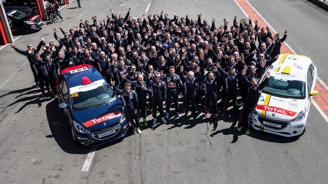Franc Succès Pour Le 1er Rendez-Vous Des Rencontres Peugeot Sport 768048590643b6c829d