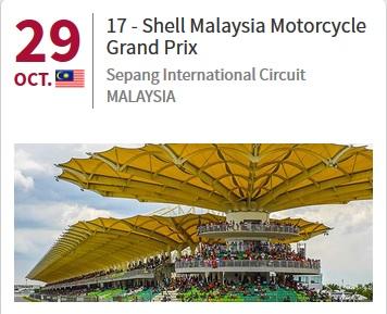 Classement concours MOTOGP 2017 774382ProchainMalaisie