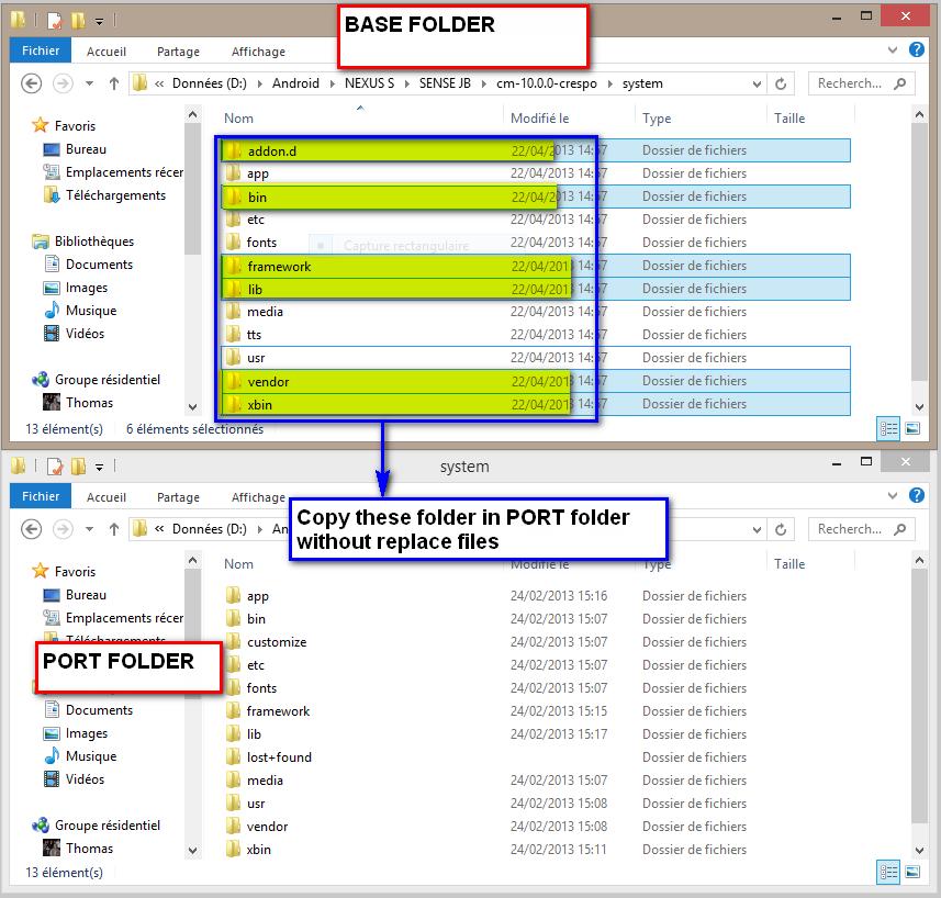 [TUTO] Comment porter une ROM stock [ Touchwizz, Sense ] 775492systemfodler