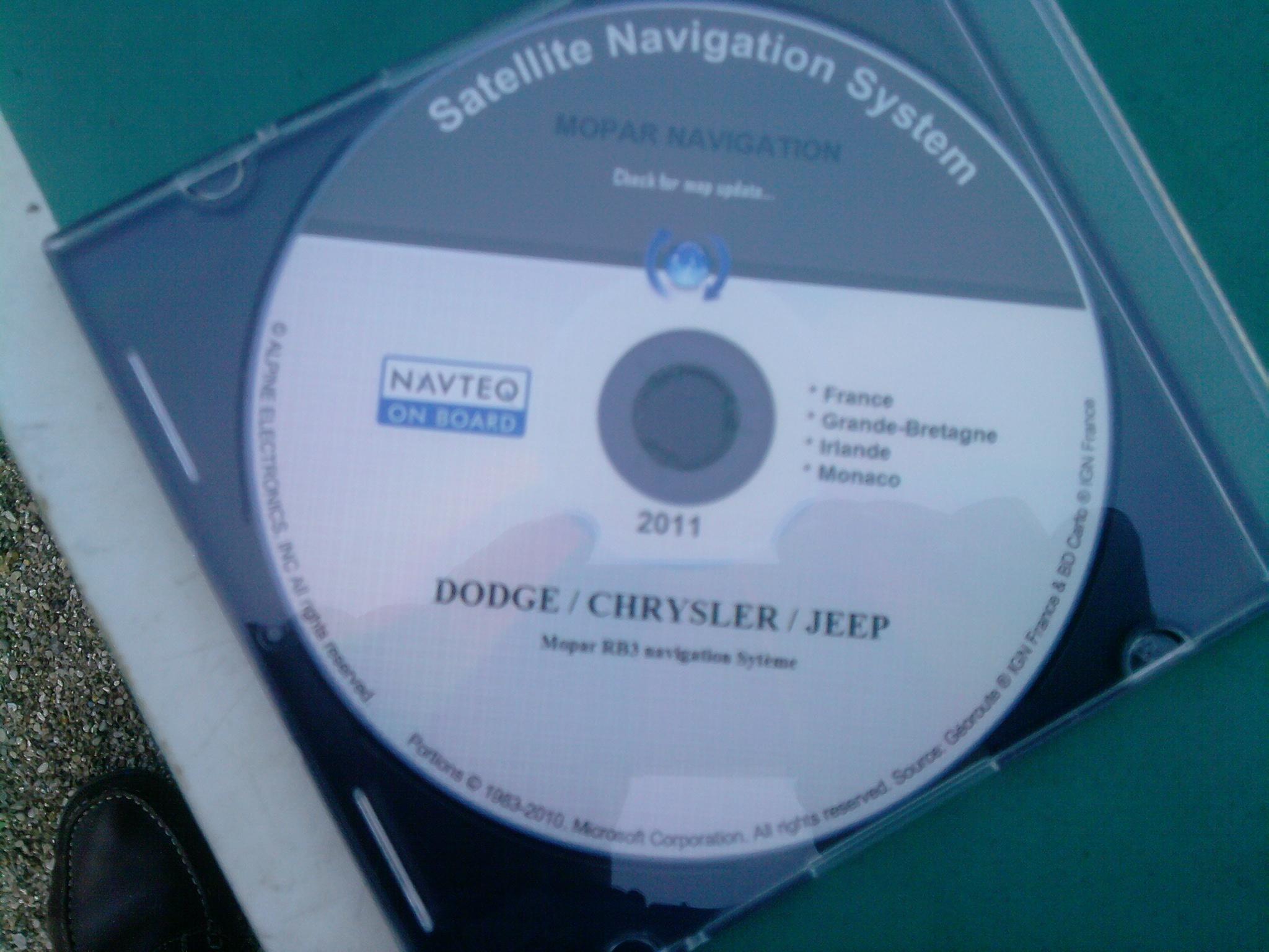 Cd de navigation S4 779339P1210121845