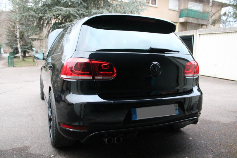 Golf 6 Gtd black - 2011 - 220 hp - Shooting p13 et insignes Piano Black p25 781442IMG0096