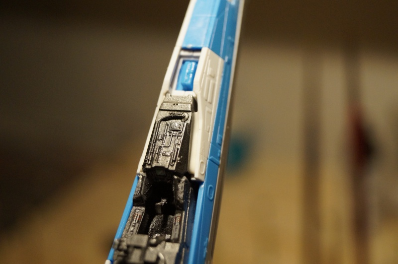 "X-Wing ""Resistance"" T-70 Bandaï 1/72 782477DSC01462"