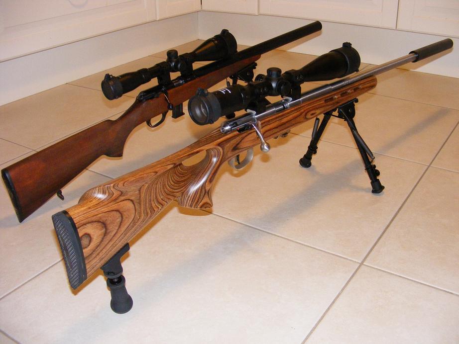 Mes armes longues : Savage Mark II BTVS  et  Custom Silence MK2 + cartons 786755DSCF0596