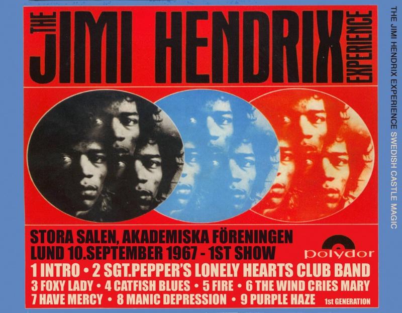 Lund (Stora Salen) : 10 septembre 1967 [Premier concert] 787575backrev