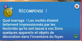 [Clos] Les défis sims - Niveau 3 - Page 3 787775Mariage2