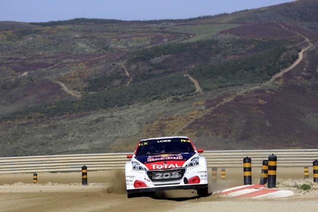 Sébastien Loeb et la PEUGEOT 208 WRX décrochent une belle deuxième place à Montalegre 78795058fb61ff9702f