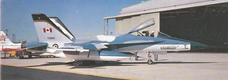 MCDONNELL-DOUGLAS F/A-18 HORNET  790017Northrop_YF_17_15