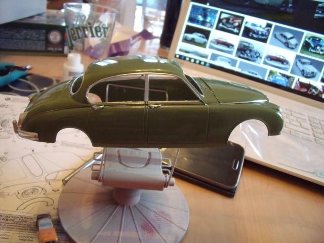 Jaguar MKII Saloon de Léopold Saroyan dans le Corniaud - Page 2 791595DSCF77411