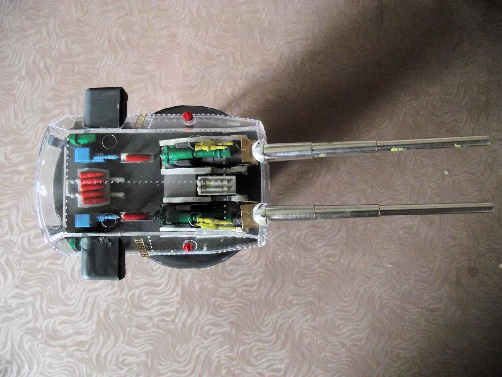 Tourelle de 380mm du Bismarck Trumpeter au 1x200 792979Bismarck1x20061
