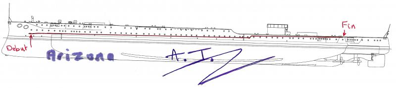 montage arizona 1/200 trumpeter par STEF - Page 5 793091ProfilArizona