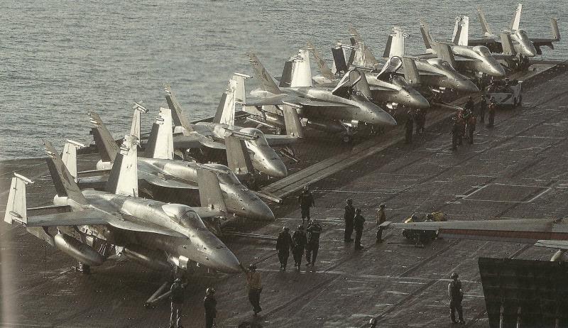 MCDONNELL-DOUGLAS F/A-18 HORNET  794708F18_Hornet_USS_Stennis