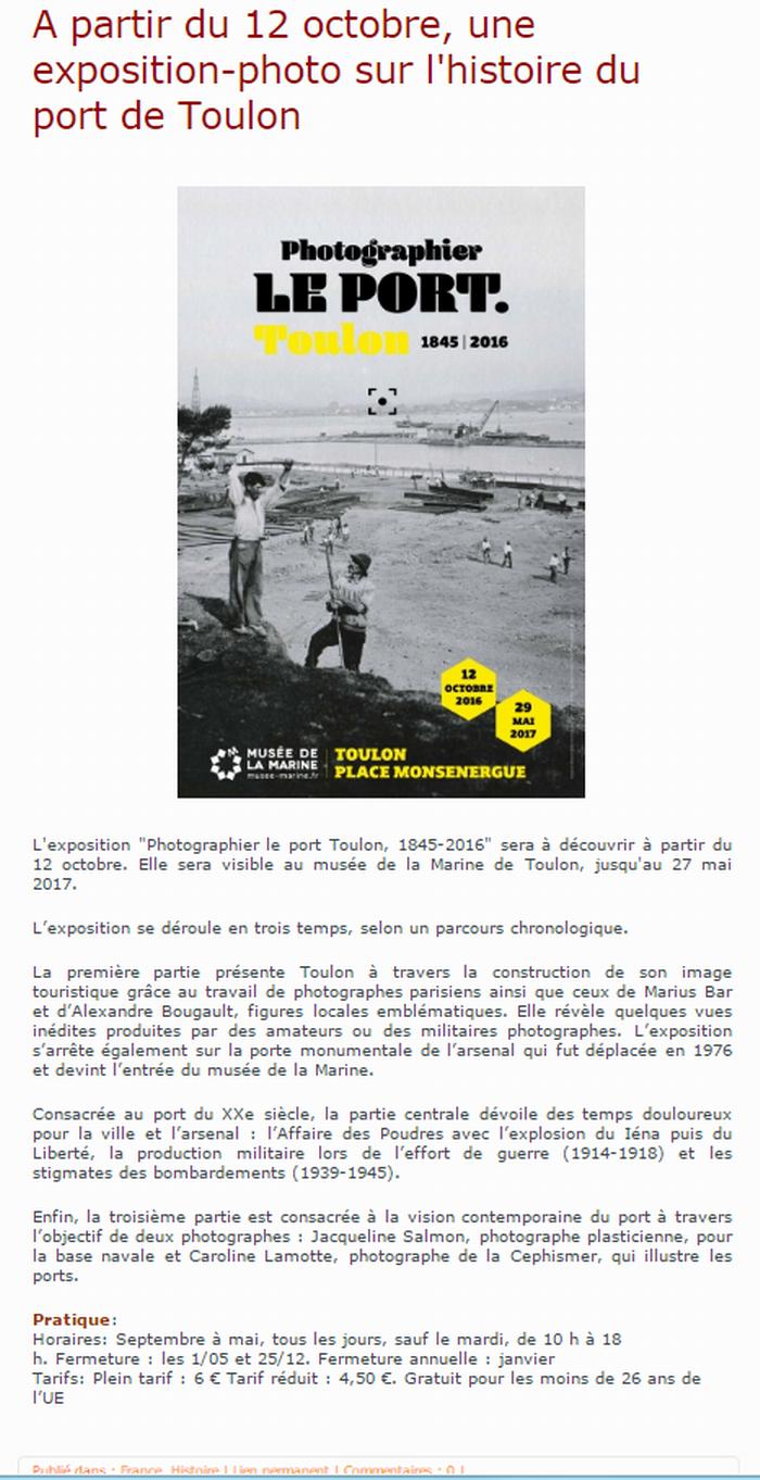 [Les Ports Militaires de Métropole] Visite de la rade de Toulon - Page 10 796648Capture