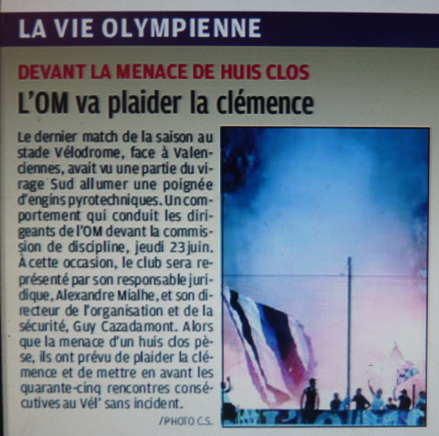 SECURITE OLYMPIENNE  - Page 2 797714P1180503