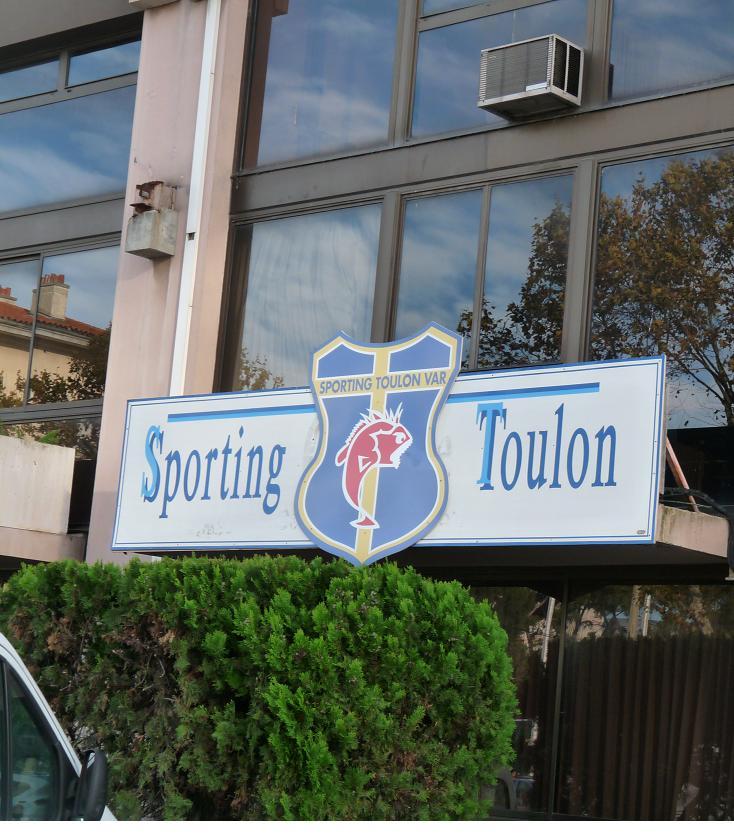 SPORTING TOULON VAR //GAZELEC D'AJACCIO ..DE LA PROVENCE A L'ILE DE BEAUTE  797724P1120687JPG