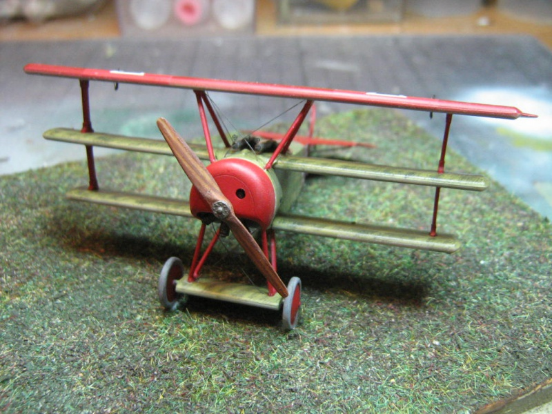 [Eduard] Fokker Dr I 152/17 Rittm Manfred von Richthofen Mars 1918 798537IMG0279