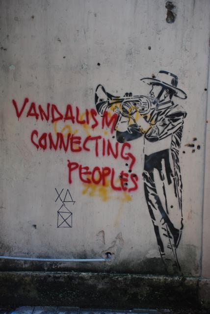 Graffitis, affiches, pub, peintures, sculptures, art - Page 3 800043DSC0478