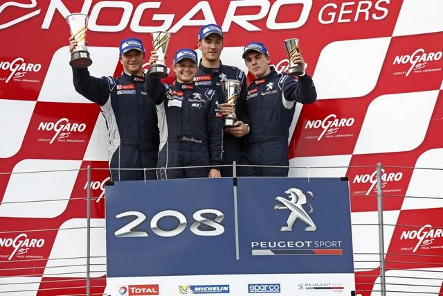 Rencontres Peugeot Sport - Quatre Titres Distribués A Nogaro ! 80093458275de5c2494