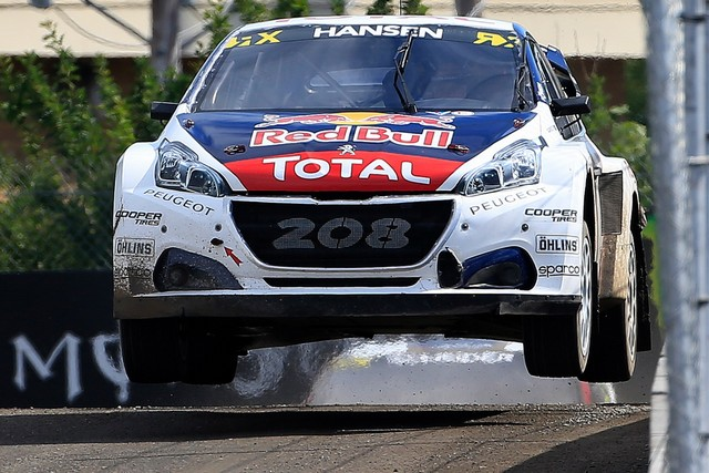 Troisième podium d'affilée pour Sébastien Loeb et la PEUGEOT 208 WRX, au Canada 80337759868271a6a53zoom