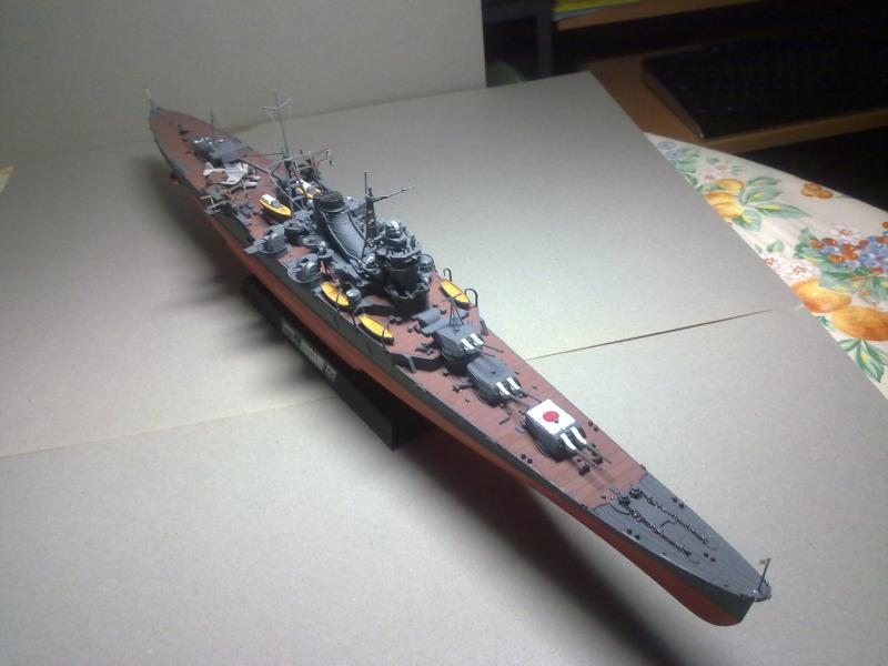 Croiseur lourd Mogami au 1/350 ème TAMIYA 805175190120111121