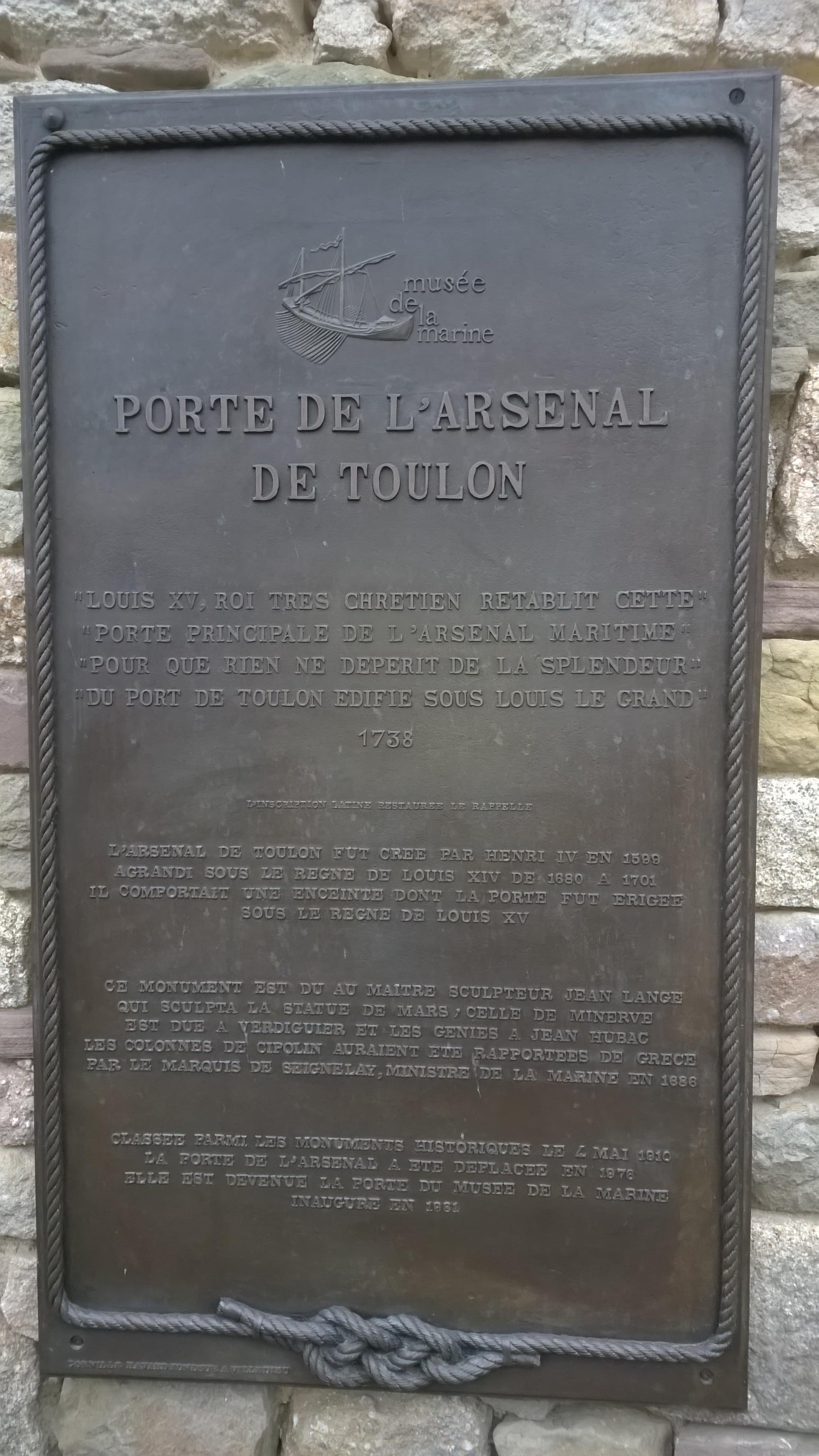 [LES PORTS MILITAIRES DE MÉTROPOLE] De la création de l'arsenal de Toulon à aujourd'hui la base navale 806085WP20170222007