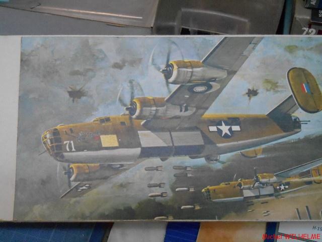 B24.D LIBERATOR kit 1/72 Revell 806257DSCN8460Copier