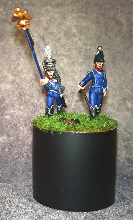 7ème régiment d infanterie légère - 1812 - Petite surprise ! 8088877emergtinflgre18121