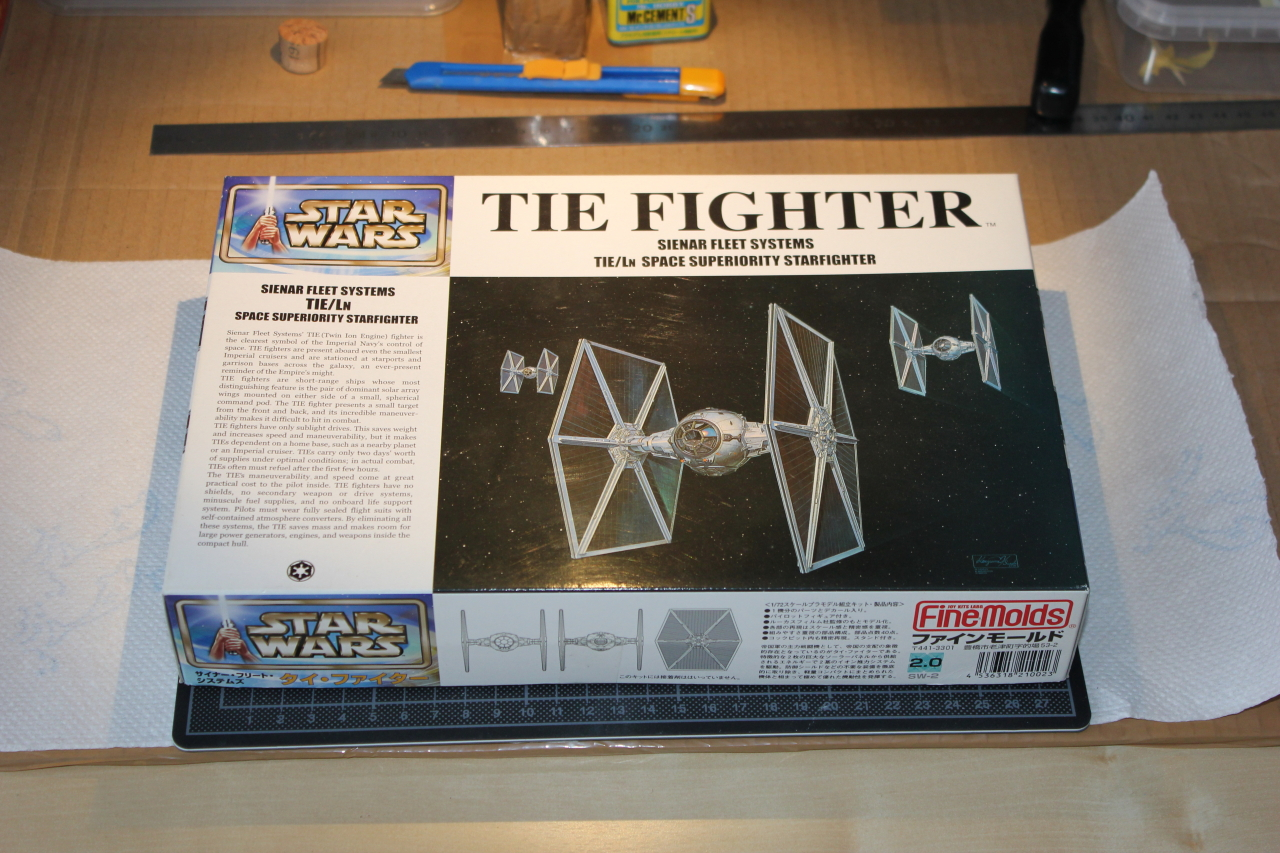 Star Wars [Tie Fighter] Fine Molds 1 : 72 809580DPP1102