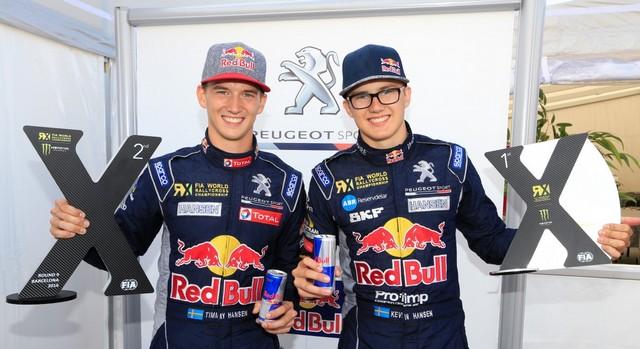 Rallycross - 8ème podium pour la PEUGEOT 208 WRX en WorldRX / Kevin Hansen Champion d'Europe ! 812133wrx201609180201e1474277766231