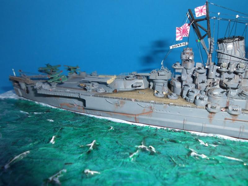 IJN Yamato Tamiya 1/700e + PE Eduard - Page 4 812322DSCN6378