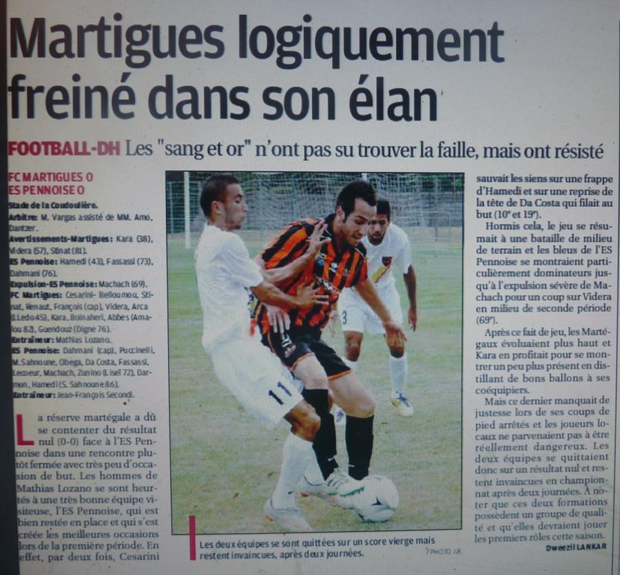 FC MARTIGUES B // DH MEDITERRANEE - Page 3 812602P1220628