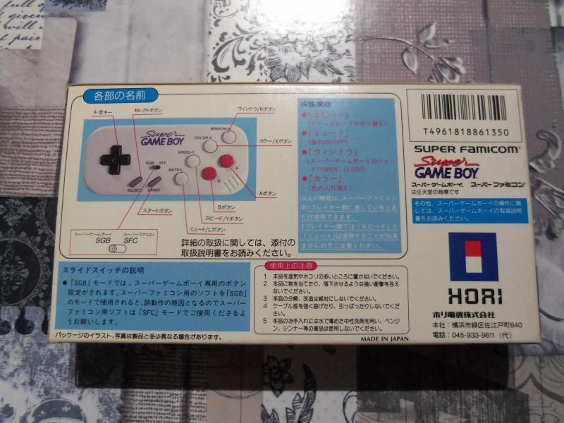 [EST] Super Gameboy Player 2 neuf en boite + SGB commander HORI  8128271004018